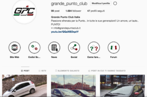 Grande Punto Club Instagram