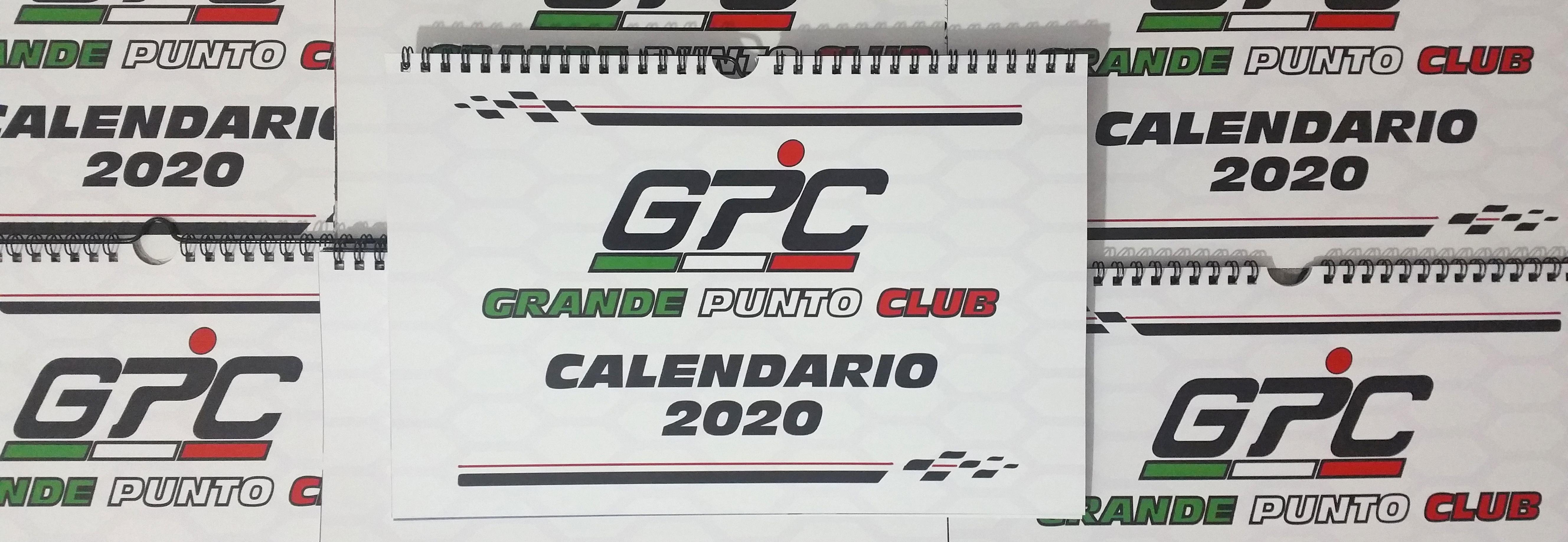 Calendario 2020 Grande Punto Club