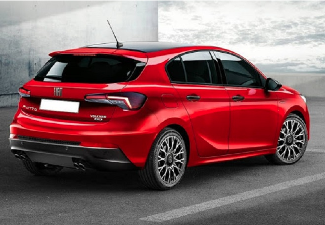 Nuova Fiat Punto 2022 render